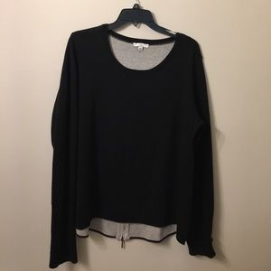 (1330). H by Halston sweater top.  Size L